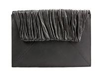Wrinkled Envelop Clutch
