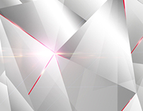 BEHIND WHITE - Free abstract triangle wallpaper