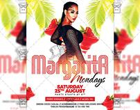 Margarita Mondays - Club A5 Template