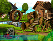 cartoon background concepts