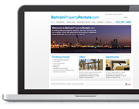 Bahrain Property Rentals website