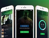 Greens Fitness App