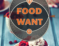 """foodWant""App short film"