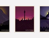 City Posters - SRI LANKA