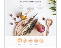 Naturoney / Web Design