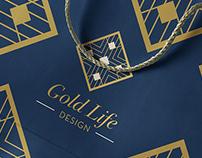 Gold Life Design Branding