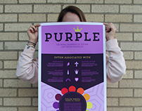 Purple Infographic