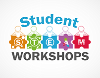 "Design a Logo ""Student STEAM workshops """