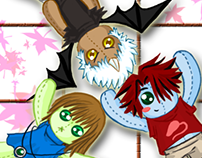 Character plush/voodoo dolls