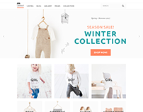 Baby Clothing E-commerce Store Project