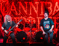 CANNIBAL CORPSE + NAPALM DEATH