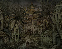 Medieval arabic city - Marsh Gate