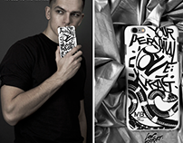 """LOVE EXTRACT"" series of iPhone cases . Product design."