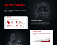 T-Foundation — website for non-profit organization