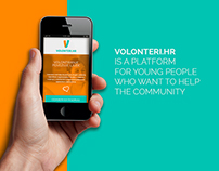 Volonteri.Hr - a community with heart