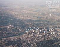 Explore Calgary - Interactive Photographic Map