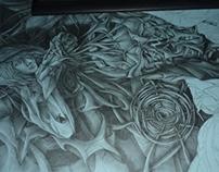 A Triptych - [no title] 2010-2011 Fine Arts