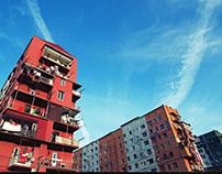 Urban Soviet Building