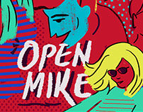 OPEN MIKE POSTER