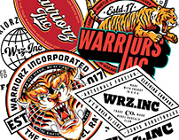 Warriorz Badges No.1