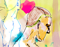 COLORFUL LIFE DRAWING