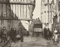 La Rue Aux Juifs, Rouen