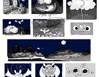 Horace The Horseshoe Bat -  Beatboard and Storyboards