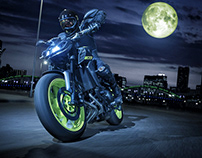 New Work for Yamaha MT 09 2018 model