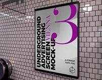 Vienna Underground Ad Screen Mock-Ups 5
