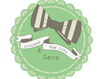 Crooked Bow Ties & Lace - Graphic Design Studio