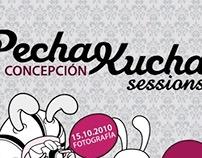 Poster para Pechakucha Concepción.
