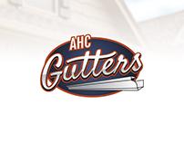 AHC Gutters Logo