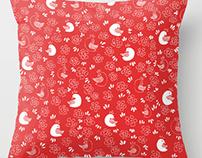 Bird Pattern/Pillow Cover