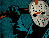Friday The 13th Gig Music Poster