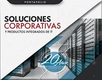 Plegable - portafolio 2017 - para Empresa Sysentec.