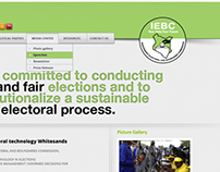 IEBC Website Interface