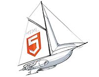 'Flying Yacht' desktop icon concept development
