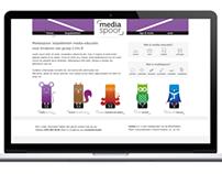 Mediaspoor | Website, Identity & Education kit