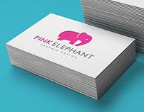 Pink Elephant Graphic Design