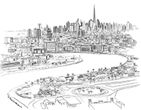 Building cities - Architectural drawings