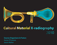 Radiography of Cultural Materials publicity material