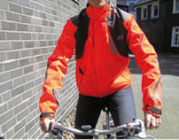 cycling jacket for couriers