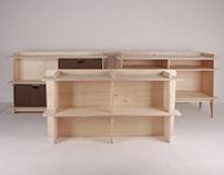 'Swing Out Sister'_shelves module