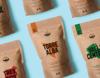 Tico Coffee - Packaging design