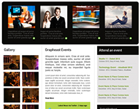 Grapheast Event Website Design