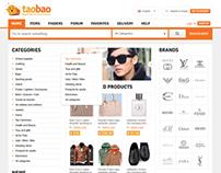 TaoBao Web Store