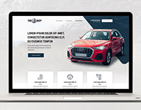 Homepage Design for Tyre Industry