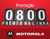 Promoção 0800 Motorola