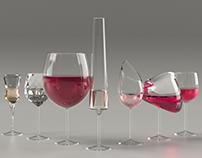 Seven Sins glassware