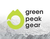 Green Peak Gear Branding